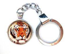 Key Chain - Tiger Key Chain - Tiger Key Ring - AU03