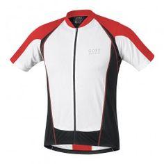Maillot #Gore Bike Wear Contest FZ color rojo/blanco/negro es un #maillot de diseño moderno y precio contenido con el que te sentirás muy a gusto en #deporvillage por 64.95€