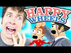 Happy Wheels - SEVERED HEAD THROW