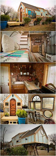 """The """"Birds Nest"""" Tiny House Is a Tiny Fairytale Re…"""
