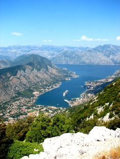Kotor, Montenegro -Even the cruise ship that I took there is in the picture! #beauty #blessed #travel