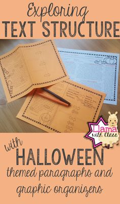 Great way to practice text structure and relate it to Halloween! Students can learn about Halloween while reading these short nonfiction paragraphs and filling out graphic organizers. Perfect for grades 3-5.