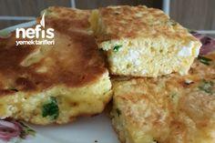 Lor Peynirli Börek Tadında Omlet (Yumurta Yemeyen Çocuklar İçin)