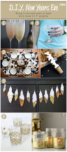DIY projects for New Years Eve