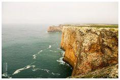 Landscape nature sea and rocks Cape St. Vincent in Portugal photograph. Fine Art Seascape Home decor Nature Photo10x15 on Etsy, $20.58 AUD