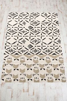 lovely Slice Stamp Rug