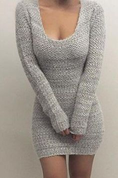 25 Knitted Fall Outfits That Are Stylish And Cozy #wearablesclothing