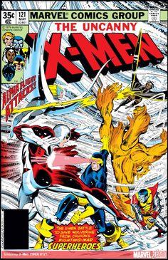 Uncanny X-Men (1963) #121