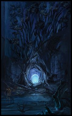 Lord of the Rings Online: The West Gate, concept art by Tara Rueping @ Truepaint.blogspot.com
