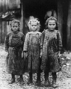 Little Orphan Girls by Lewis W. Hine,  American, 1874-1940