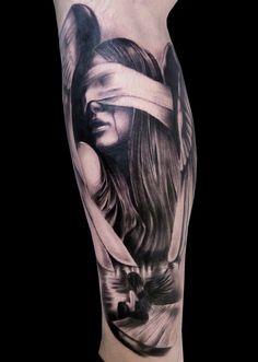 Silvano Fiato Portrait tattoos
