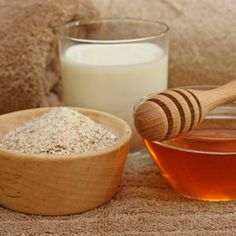 Mix your regular body wash with a handful of oatmeal, 2 tablespoons of powdered milk, a teaspoon of honey, 2 drops of lavender essential oil, some olive oil, and half a serving of coffee grounds. Rub the combo from neck to toes and your skin will feel velvety soft.
