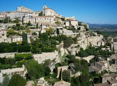 Gordes is spectacularly situated at the southern slope of the Plateau de Vaucluse with an incomparable view over the plains and mountains of the Nature Reserve Luberon. Arriving from the South a stunning view opens up on the charming village. Climbing up high on the rocks the houses built with natural stones of the region reflect in white and grey the intense sunlight of the Provence. A Renaissance castle (formerly Vasarely Museum but now Pol Para Museum) and the church are perched high up…