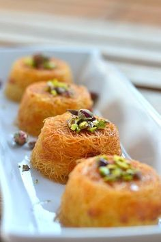 Arabic cream (gaimar / keshta / clotted cream) Archives - Dates with Lara Lebanese Desserts, Lebanese Recipes, Turkish Recipes, Greek Recipes, Knafeh Recipe Lebanese, Arabic Recipes, Greek Sweets, Greek Desserts, Party Desserts