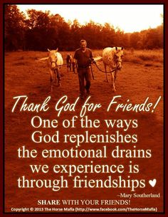 Thank God for Friends