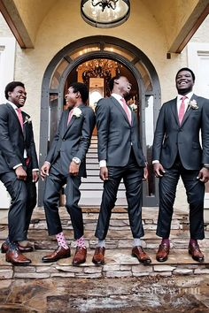 Pretty in Pink Backyard Wedding in Atlanta Planned by ellyb Events - Munaluchi Bridal Magazine sock game Wedding Poses, Wedding Groom, Wedding Men, Wedding Suits, Wedding Styles, Dream Wedding, Gown Wedding, Wedding Colors, Wedding Ideas