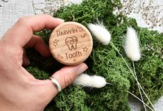 Personalised, wooden box. Tooth Fairy box to put under your pillow. Perfect gift. Personalise with your child's name. Christmas gift. Biodegradable Confetti, Biodegradable Products, Tooth Fairy Box, Wooden Gifts, Unusual Gifts, Wooden Boxes, Make You Smile, Your Child, Personalized Gifts