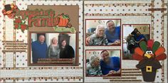 Thanksgiving is for Family - Scrapbook.com