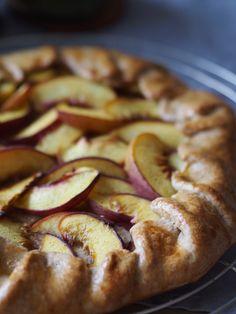 Geiler Rustic Pie mit süßen Pfirsichen