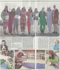 #the all-in-one company #onesie #be-spoke #create-your-own #unique #featured in J2 #newspaper