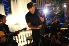 Remember when we told you Imagine Dragons was seeking superfans for a video shoot? That shoot appears to be a Grammy performance downtown this weekend.