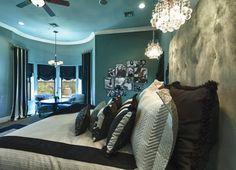 Room color Arrowhead Trail Remodel - traditional - bedroom - phoenix - IBD Studio