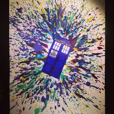 Col doctor who crayon art