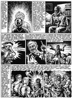 R. Crumb Illustrates Philip K. Dick's Hallucinatory Spiritual Experience