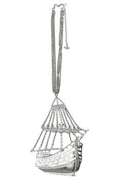 Ship Shape Necklace #InkedShop #necklace #ship #jewelry
