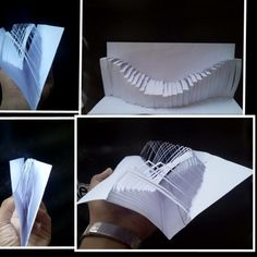 Paper art by me