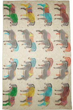 yarnz zebra scarf