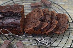 Gyors, csokoládés banánkenyér bögrésen | Rupáner-konyha Party Snacks, Pound Cake, Cupcake, Recipies, Muffin, Sweets, Food, Recipes, Appetizers For Party