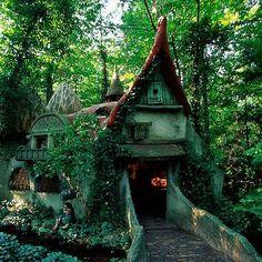 Lovely forest house in Efteling, Holland<3