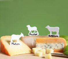 Writeable ARTisan Cheese Markers
