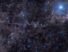 Stars in a Dusty Sky (Sept 28 2012)  Image Credit & Copyright: John Davis  Explanation: Bright star Markab anchors this dusty skyscape. At the top right corner of the frame, Markab itself marks a corner of an asterism known as the Great Square, found within the boundaries of the constellation Pegasus, the flying horse. The wide and deep telescopic view rides along for some 5 degrees or about 10 times the angular diameter of the Full Moon (...) #astronomy