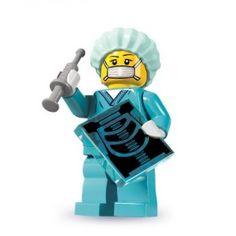Lego Minifig  Minifigures Serie 6  la femme chirurgien