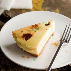 Kendal mint cake cheesecake recipe - From Lakeland http://www.lakeland.co.uk/r80174/Kendal-mint-cake-cheesecake