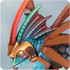 Sproket's Small World: Skink Priest step-by-step part 1.