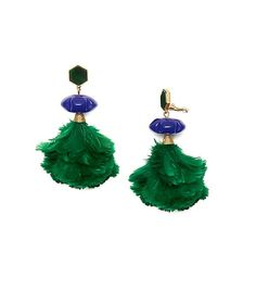 FEATHER DROP EARRING GORGEOUS!!!