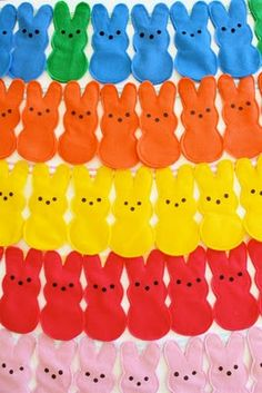 felt peeps - completed and used as gifts for Easter photo session clients. Had MIL embroider my logo in one corner- SO CUTE!