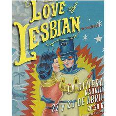 Love of Lesbian actuarán el 22 y 23 de Abril en la sala Riviera de Madrid. He tenido el placer de hacer el arte del nuevo disco. #loveoflesbian #sergiomora #magicomora
