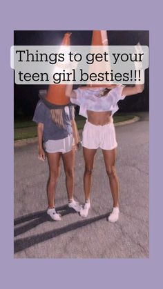 Cute Gifts For Friends, Crazy Things To Do With Friends, Bestie Gifts, Birthday Gifts For Best Friend, Gifts For Teens, Best Friend Gifts, Best Friend Stuff, Things To Do At A Sleepover, Fun Sleepover Ideas