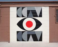 Evan Hecox Mural in Sante Fe, New Mexico