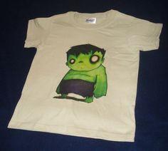 Playera Camiseta Hulk Avengers Vengadores Superheroes Niño