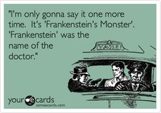 Frankenstein by Shelley. I love this book!! :)