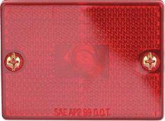 Optronics MC-36RBP Red Reflector Marker/Clearance Light