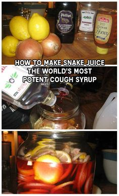 Snake Juice- The World's Most Potent Cough Syrup