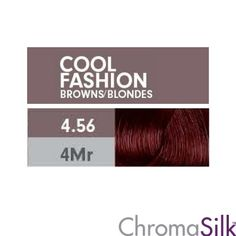 Pravana - ChromaSilk - 4.56 Mahogany Red Brown