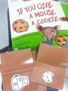 """Activities for """"If You Give A Mouse A Cookie"""" and """"If You Give A Pig A Pancake"""""""
