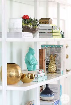 Guide To Bookcase Styling